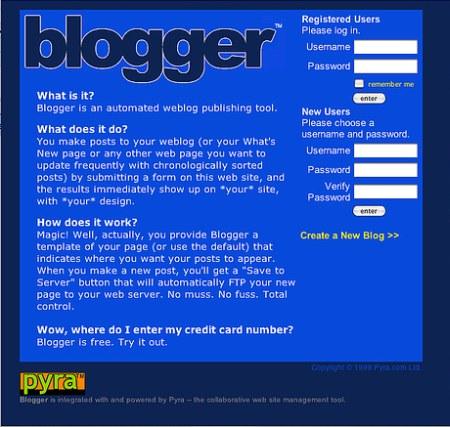 Blogger.com feiert seinen 8. Geburtstag