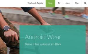 Android Wear von Google