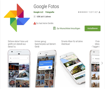 AppGoogleFotos