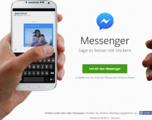 Messenger von Facebook