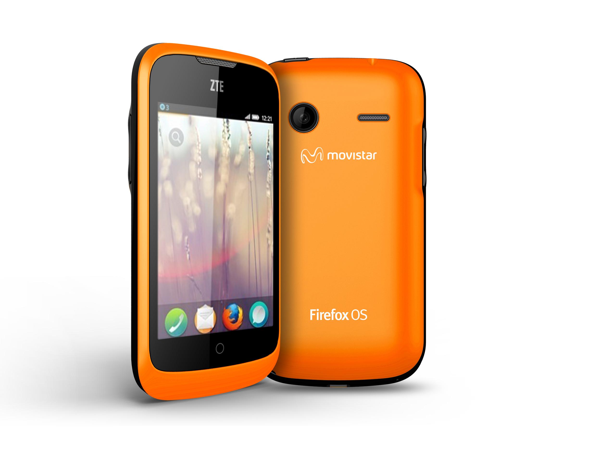 ZTE-Smartphone mit Firefox OS von Mozilla