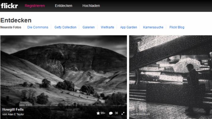 Foto-Dienst FlickR