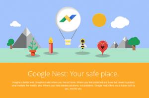 Die vermeintlich neue Produktgruppe von Google, Google Nest