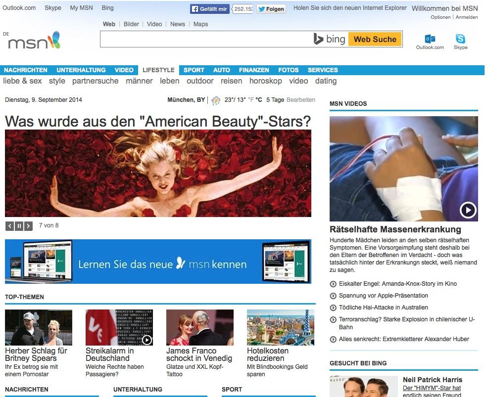 Rundumerneuerung MSN