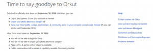 Soziales Google-Netzwerk Orkut