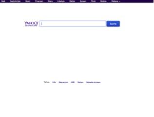 Yahoo Suchmaschine