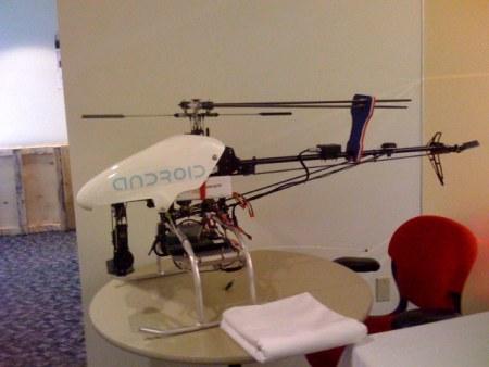 Android Helicopter: Google Hubschrauber von Andy Rubin