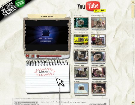 Be Kind Rewind: Youtube Design