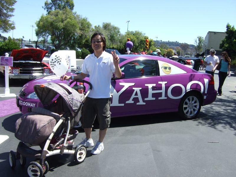 Yahoo Auto -  Yahoo Honda mit Smiley