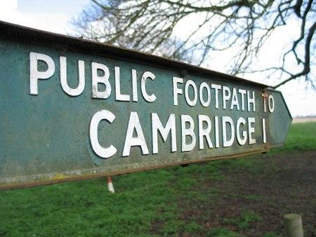 Cambridge Universität - Grantchester Meadows