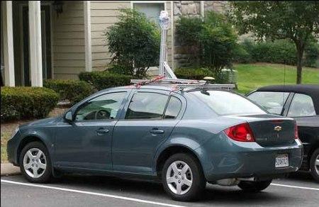 Chevy Cobalt StreetView Car Sichtung in Nashville