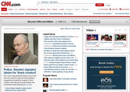 CNN.com setzt bei Suche und Werbung auf Google