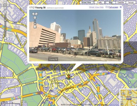 Google Maps StreetView: Dallas
