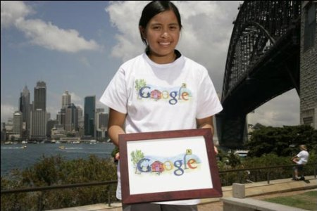 Doodle 4 Google: Gewinner des Doodle 4 Google My Australia Contest: Janelle San Juan