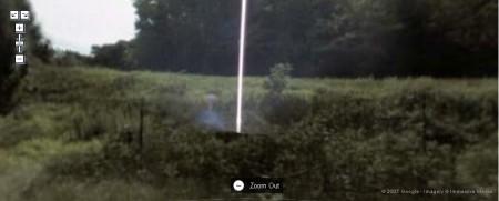 E.T. im Street View Vollbild Modus nicht mehr zu leugnen