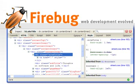 Firebug - Firebug Browser Extension