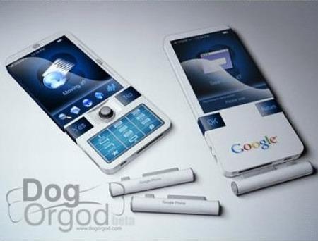 Google Phone - mögliche Variante des G-Phone