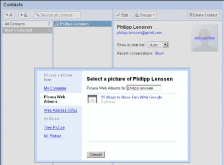 Gmail 2.0 Screenshot