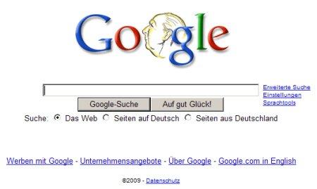 Google Doodle zu Theodor Heuss Jahrestag