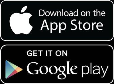 Google Play und Apple App Store