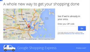 Shopping Express von Google
