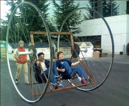 Google Dicycle: Das große Bike von Google