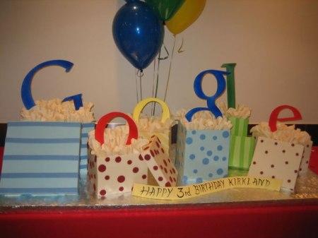 Google Geburtstagskuchen für Kirkland/Seattle