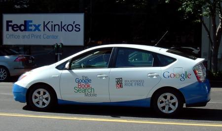 Google Autos - Toyota als Google Booksearch Autos