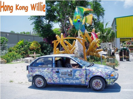 Suzuki Swift von Hong Kong Willie als Google Car