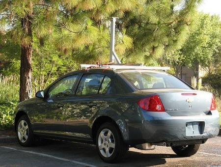 Google Autos - Chevy Cobalt als Google StreetView Car