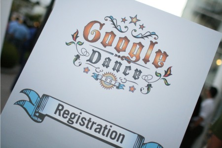 Registrierung zum Google Dance 2007