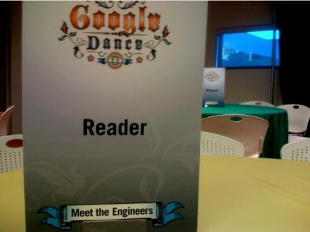 Stühle zum Google Dance 2007