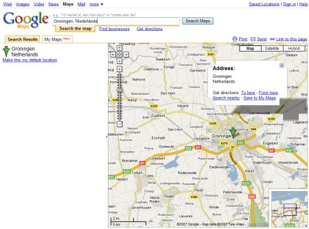 Google Datencenter Groningen, Niederlande