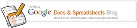 Google Docs & Spreadsheets Blog