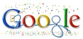 Google Doodle Neujahr 2008