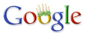 Google Doodle zum Luciafest