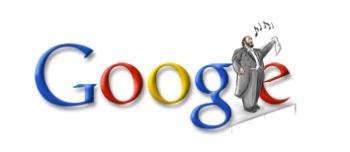 Luciano Pavarotti - Google Doodle zum Geburtstag von Luciano Pavarotti