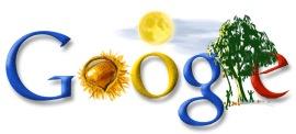 Moon Festival Google Doodle von Google Korea