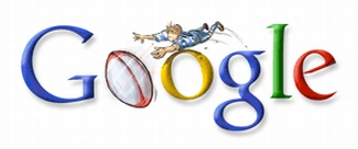 Rugby World Cup 2007 - Google Doodle zum Rugby World Cup 2007