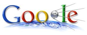 Google Doodle zu Sputnik Pieps