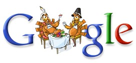 Thanksgiving 2007 Google Doodle