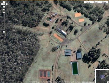 Liegenschaft in Buenos Aires, Argentinien in Google Earth