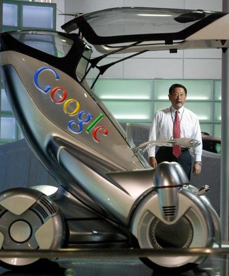 Google Future Car - Auto der Zukunft