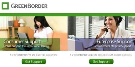GreenBorder - Google GreenBorder