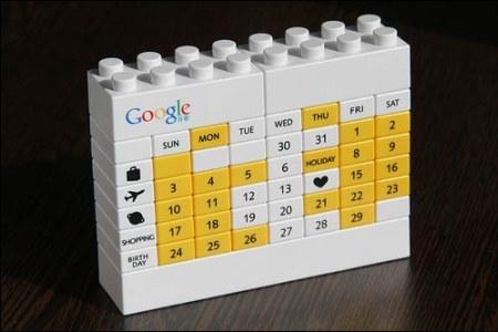 Google Lego Kalender