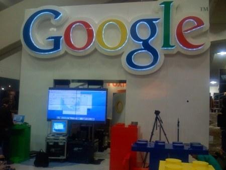 Google Stand auf der MacWorld Expo 2008