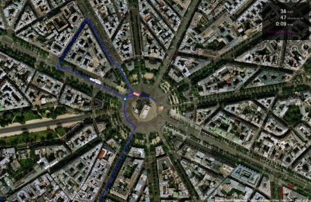 Real World Racer Rennstrecke Paris