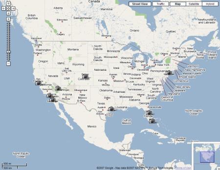 Google Maps Streetview Übersicht
