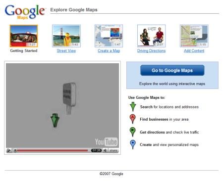 Google Maps Video Tour