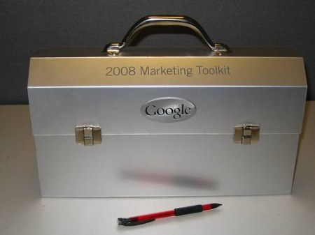 Marketing Toolkit 2008 - Geschenk von Google